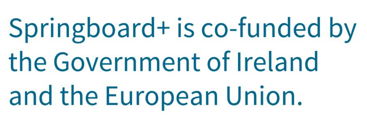 Springboard is co founded by the government of ireland and the european union